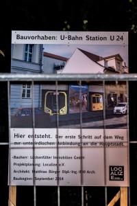 Bekommt Potsdam bald eine U-Bahn-Linie? Nein - aber diskutieren kann man jede Idee mal, finden die Macher von Localize. Foto: Dustin Sattler