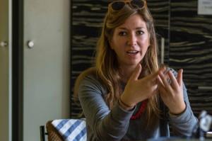 """Laura Bruns erzählt von ihrer Masterarbeit zum Thema """"Stadt selber machen"""""""