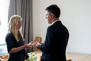 Adalina Agejew im Gespräch mit Gunther Adler