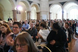 Auch das Publikum in München fordert mehr Transparenz. Foto: Annika Althoff