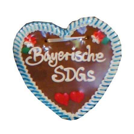 Das Bayrische SDG Oktoberfestherz Foto: Annika Althoff