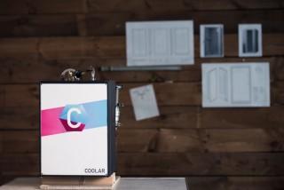 """Der Prototyp-Kühlschrank von """"coolar"""". ©coolar"""