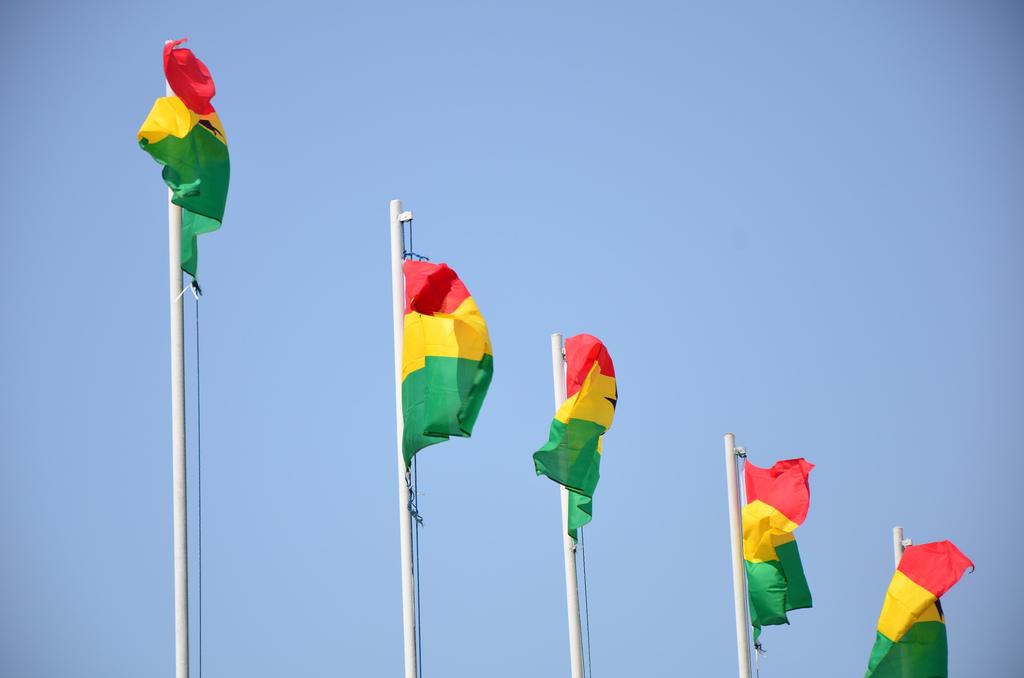 Rot, gelb, grün weht die ghanaische Flagge- Was kennst du noch? Foto: Ben Sutherland/ flickr.com/ CC