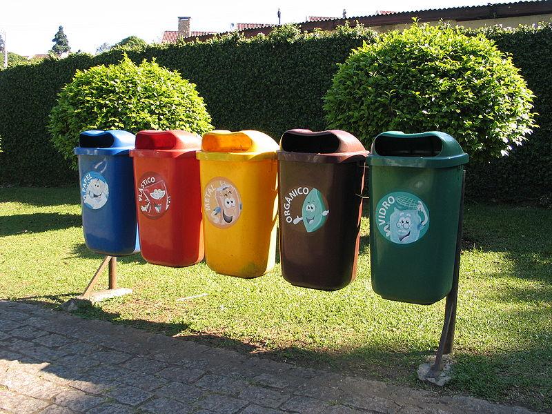 Der Inhalt von Recycling-Tonnen ist in vielen Ländern unterschiedlich. Bild: Zaf (commons.wikipedia.org, CC-BY-NC 3.0)