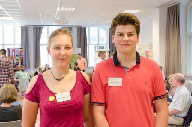 Hellena Wageman und Alexander Feltes (Foto: Jonas Walzberg)