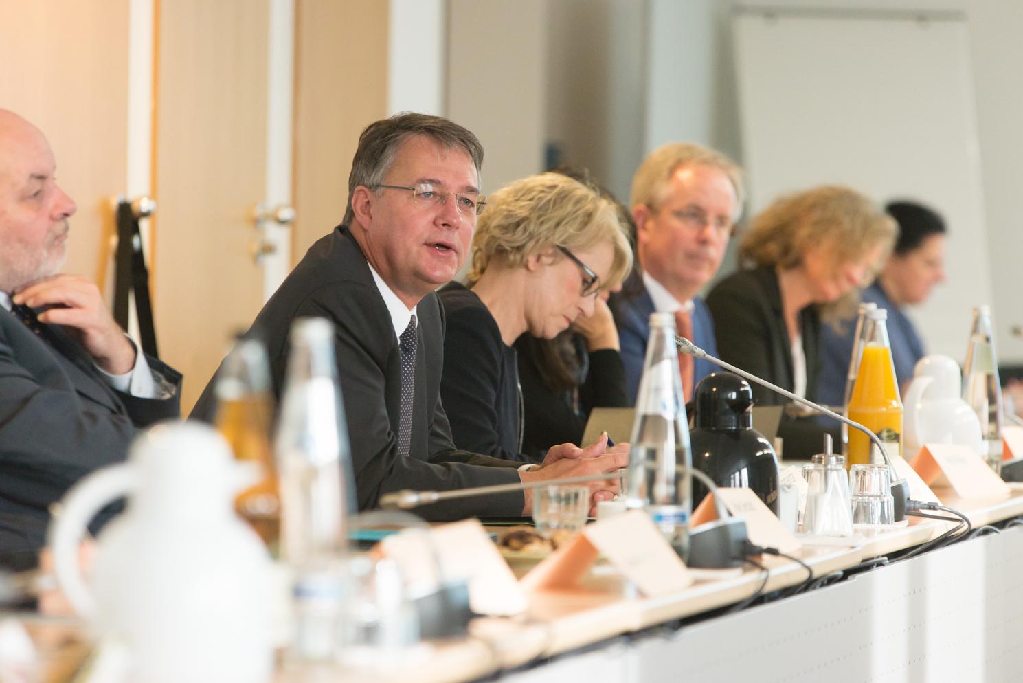Staatssekretär Gunther Albrecht. Foto: Jonas Walzberg