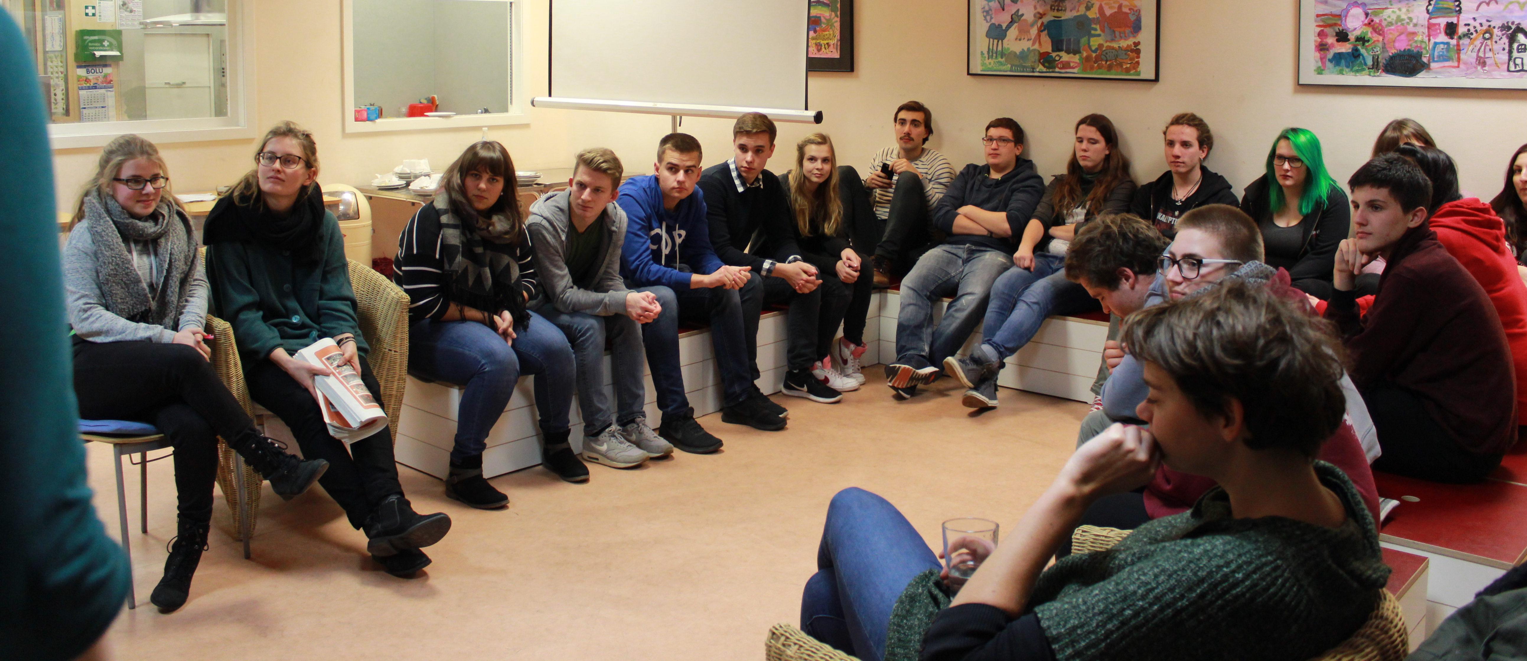 Teilnehmende des 10. Jugendforums Stadtentwicklung