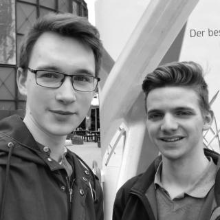 Lennart Glaser und Sascha Kemper