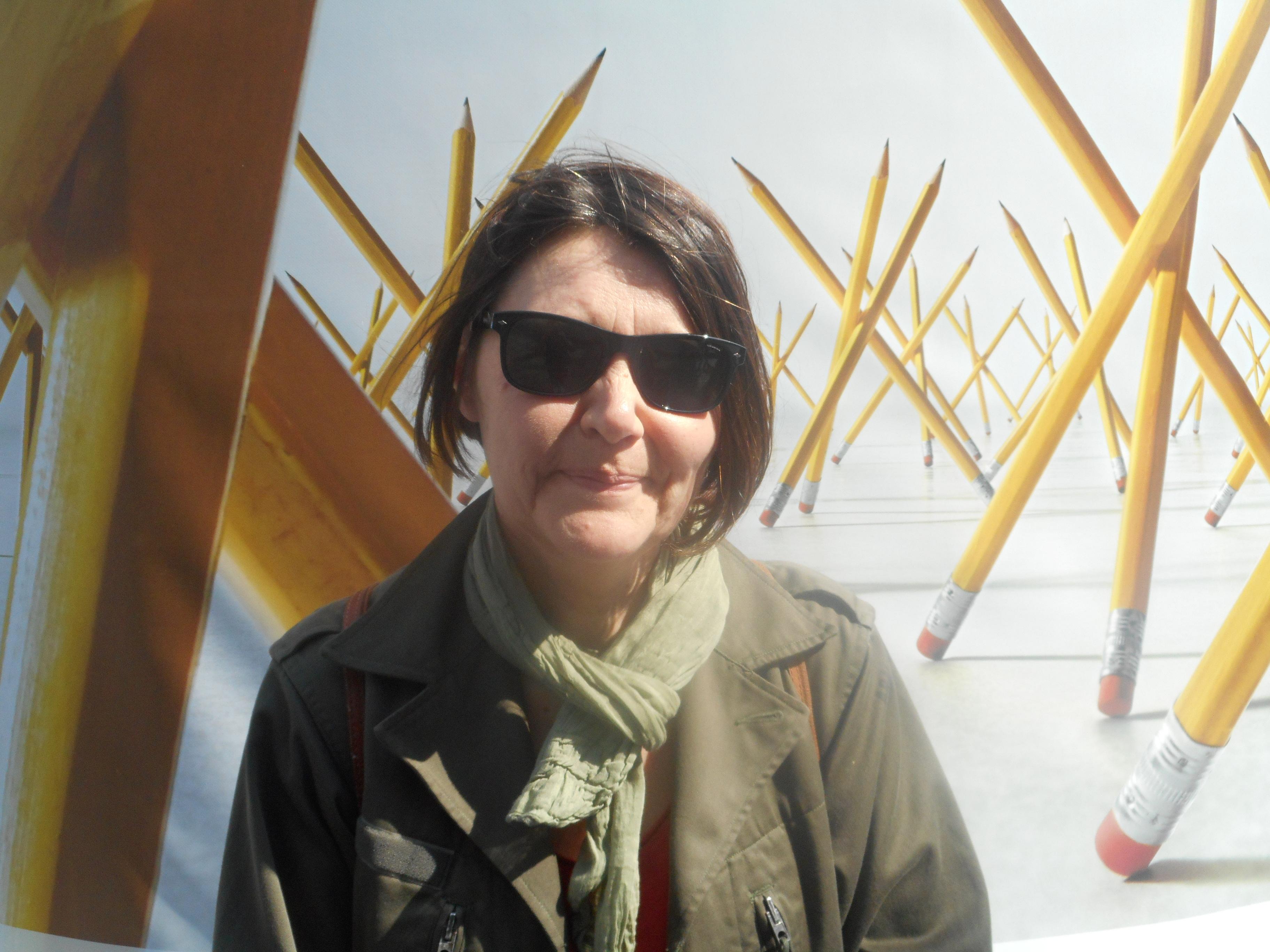 """""""…sie der Grundbestandteil der Freiheit an sich ist."""" – Arianne Vidal, Touristin aus Frankreich"""