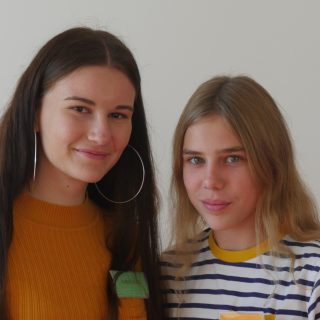 Isabell Lutz und Amelie Seidel