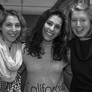 Ellie Rudee, Asma Shehadeh and Katharina Petry
