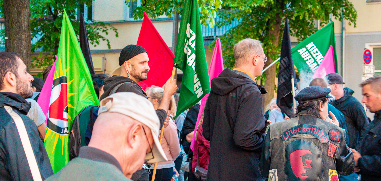 Demo am 1. Mai in Berlin / Foto: Mohamad Rajab/Tarek Bunni