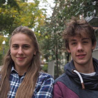 Hanna Vasylieva und Ole Wahls