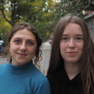 Hanna Nyzhnyk and Daryna Sterina