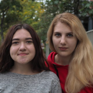 Anastasia Kuznietsova and Daria Kisieieva