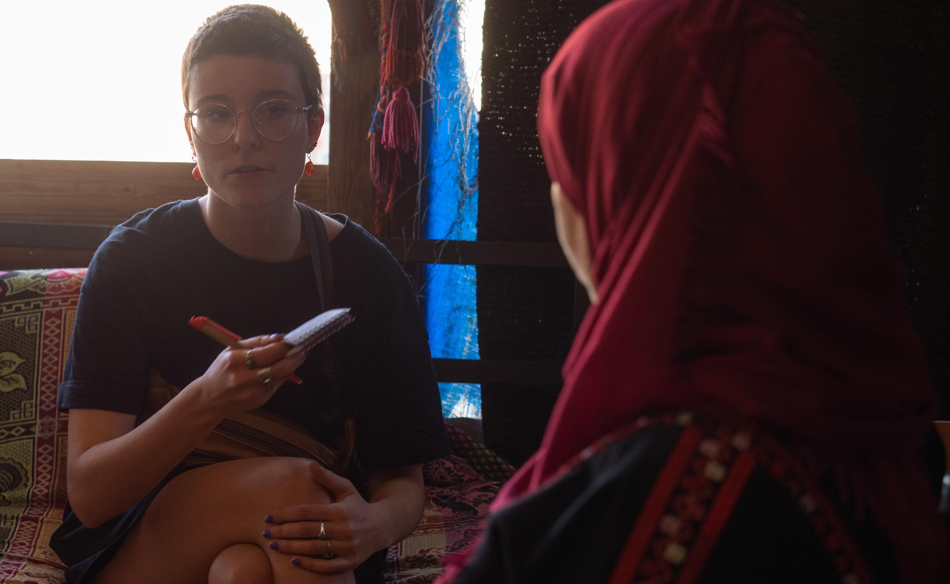 Hanna Hörnlein talks with Suheila about feminism