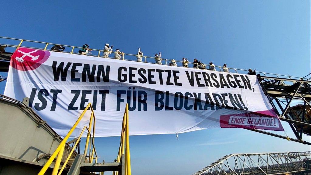 Ende Gelände in Jänschwalde 2020, Quelle: Flickr