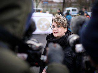 Sina Reisch, Pressesprecherin von Ende Gelände 2019, Foto: Georg Kurz