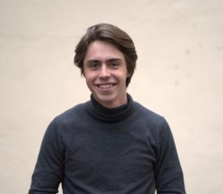 Moritz Klug (24) engagiert sich für die paneuropäische Partei Volt.