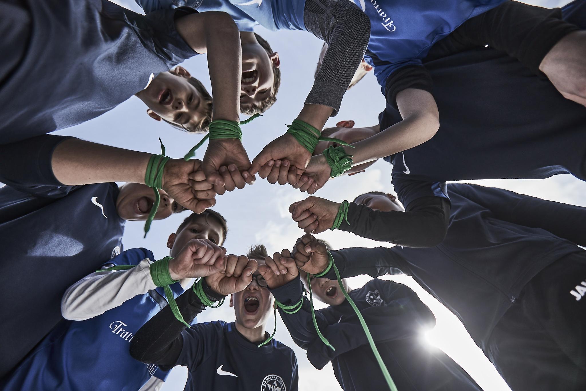 Zusammenhalt und Integration sind Leitideen des jüdischen Sportvereins Makkabi. Quelle: Makkabi.