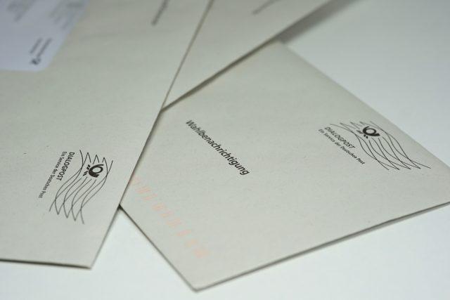 Wahlbenachrichtigungsbrief